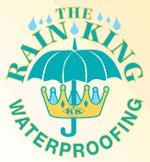 Rain King basement waterproofing